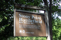 Click to enlarge photo of Stony Point Entrance sign